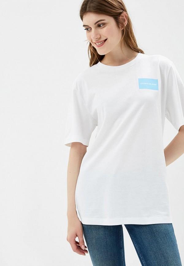 Купить Футболка Calvin Klein Jeans, CA939EWBTHQ8, белый, Осень-зима 2018/2019
