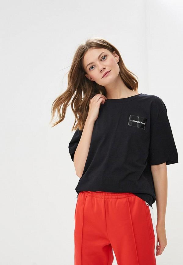 Купить Футболка Calvin Klein Jeans, CA939EWBTHQ9, черный, Осень-зима 2018/2019