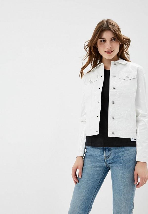 Куртка кожаная Calvin Klein Jeans Calvin Klein Jeans CA939EWBTHS3 куртка calvin klein jeans calvin klein jeans ca939ewbthr9