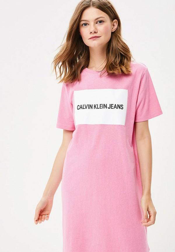 Платье Calvin Klein Jeans Calvin Klein Jeans CA939EWBTHT1 платье calvin klein jeans calvin klein jeans ca939ewzjs70