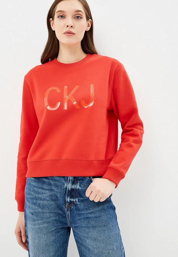 Свитшот Calvin Klein Jeans Calvin Klein Jeans CA939EWBTIJ7 calvin klein jeans calvin klein jeans j2ij2 02173 9070