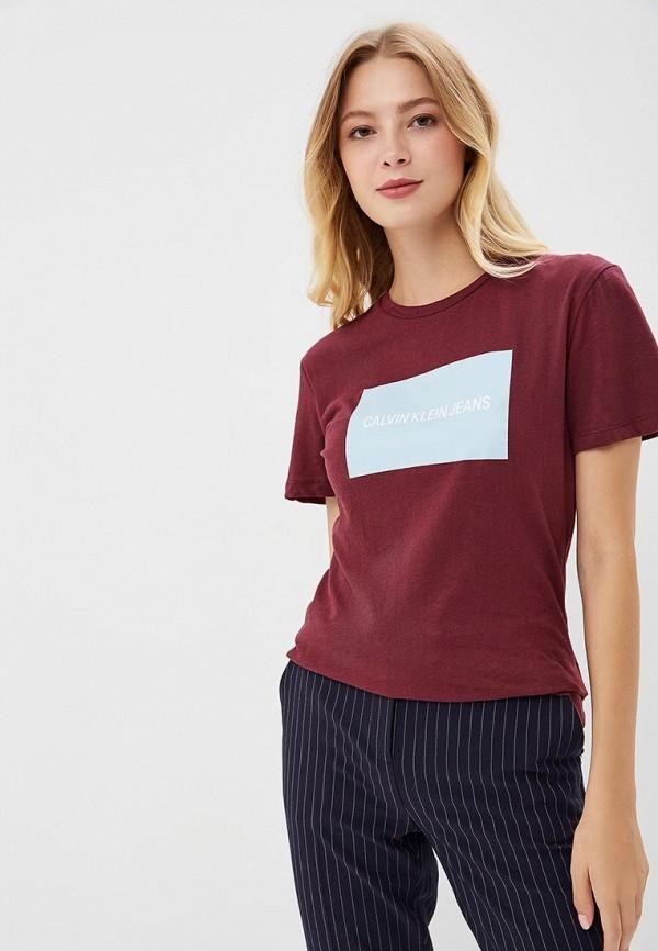 Футболка Calvin Klein Jeans Calvin Klein Jeans CA939EWBTIL2 все цены