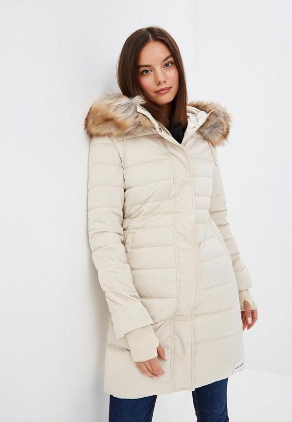 Пуховик Calvin Klein Jeans Calvin Klein Jeans CA939EWBTJR7 calvin klein new white black open front women s 12 textured jacket $149 038