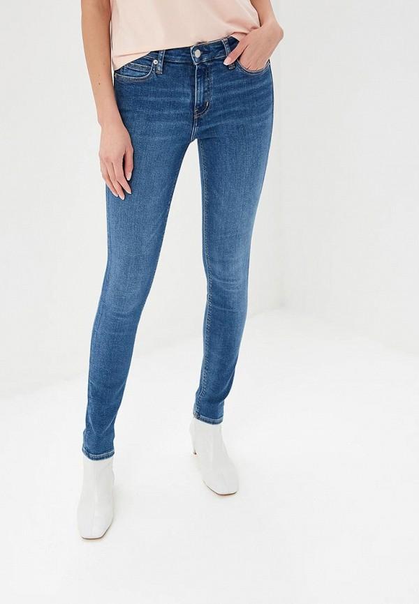 Купить Джинсы Calvin Klein Jeans, MID RISE SKINNY, ca939ewdudd5, синий, Весна-лето 2019