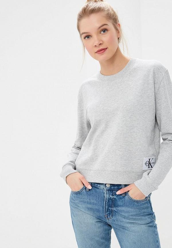 Свитшот Calvin Klein Jeans Calvin Klein Jeans CA939EWDUEV1 свитшот calvin klein jeans calvin klein jeans ca939emzjv33