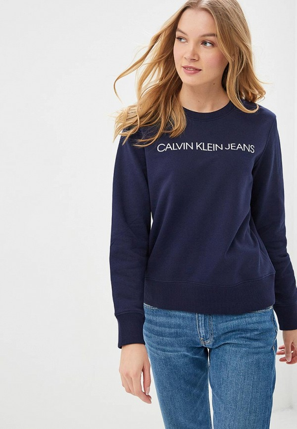 купить Свитшот Calvin Klein Jeans Calvin Klein Jeans CA939EWDUEW1 по цене 8100 рублей