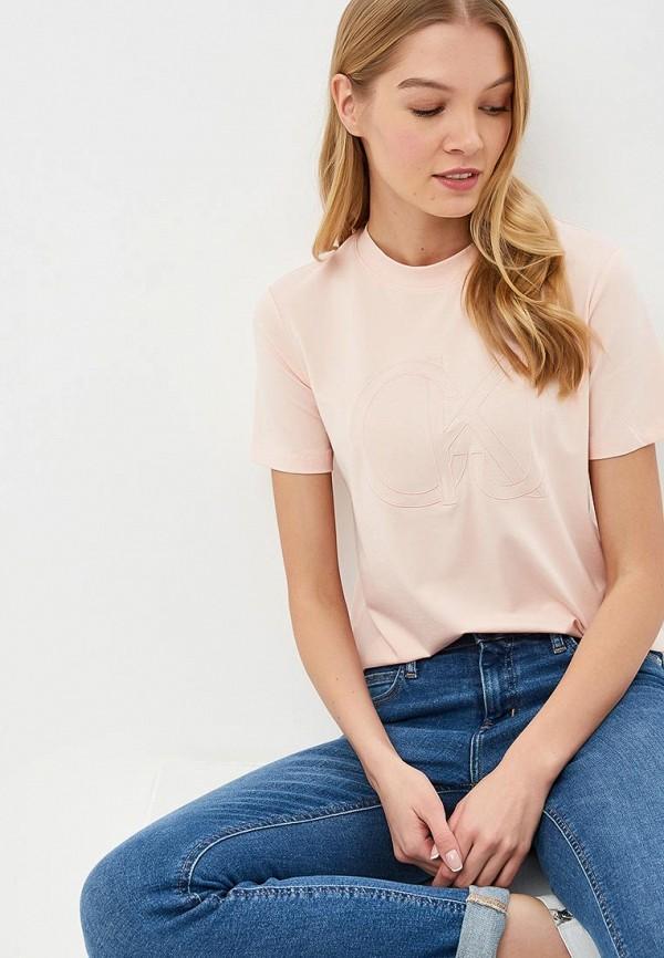 Футболка Calvin Klein Jeans Calvin Klein Jeans CA939EWDUEX9 calvin klein jeans футболка поло calvin klein jeans j3ij3 03425 0840