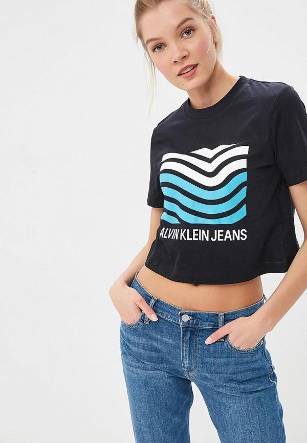 Футболка Calvin Klein Jeans Calvin Klein Jeans CA939EWDUFA5 все цены