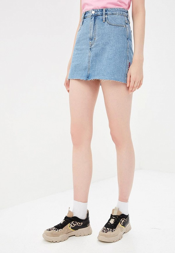 Юбка джинсовая Calvin Klein Jeans Calvin Klein Jeans CA939EWETIO5