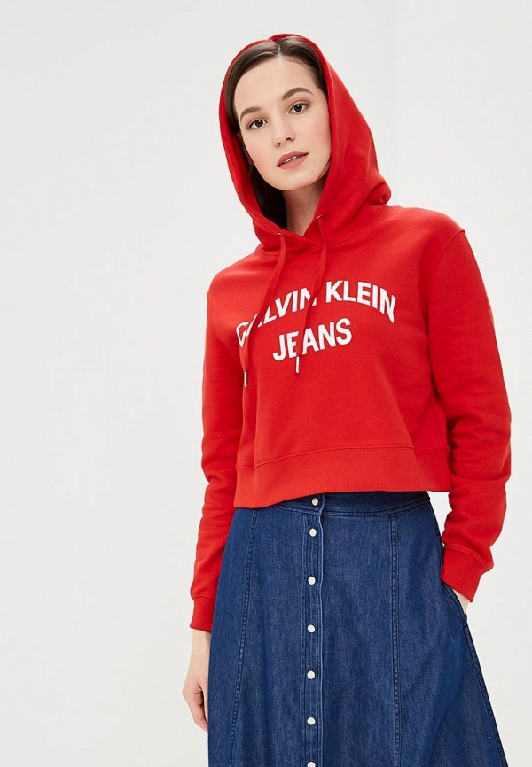 Худи Calvin Klein Jeans Calvin Klein Jeans CA939EWETIQ2 цена