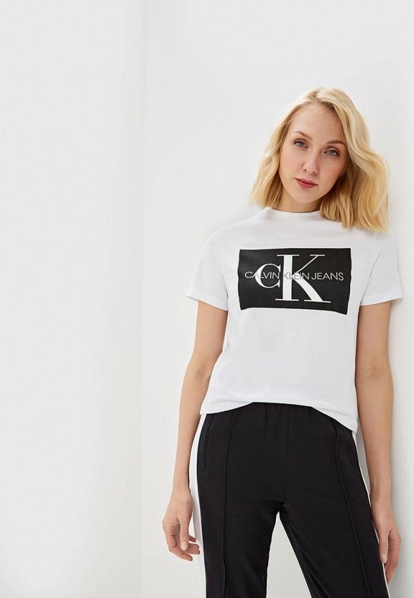 Футболка Calvin Klein Jeans Calvin Klein Jeans CA939EWETIT4 все цены