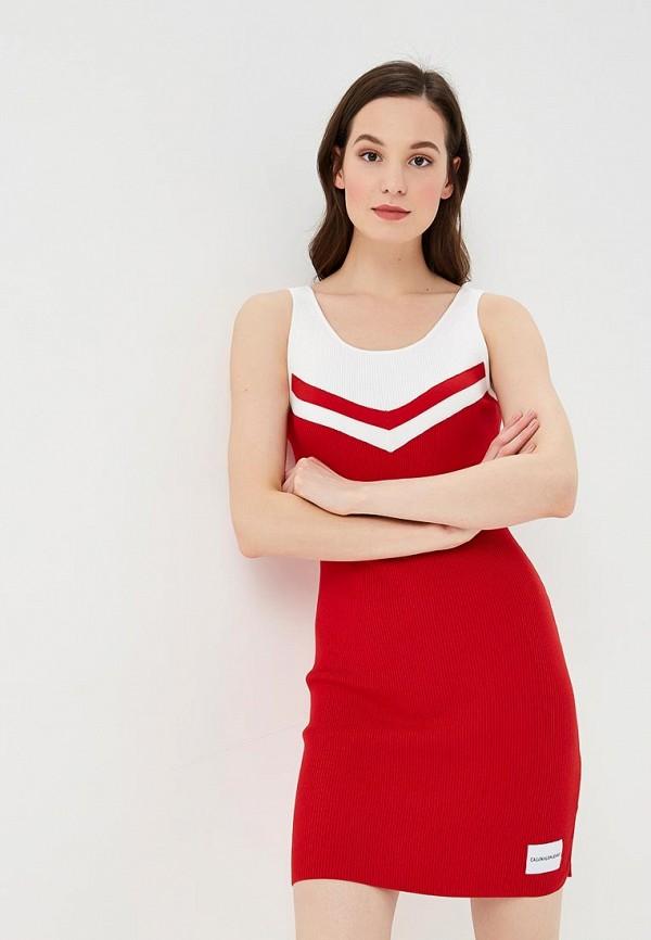 все цены на Платье Calvin Klein Jeans Calvin Klein Jeans CA939EWETIW2 онлайн
