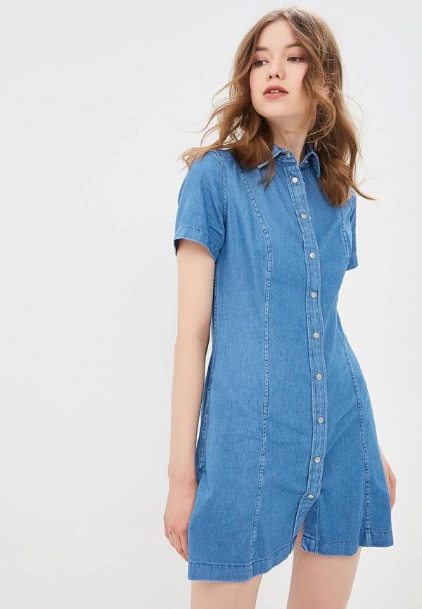 Платье джинсовое Calvin Klein Jeans Calvin Klein Jeans CA939EWETIW5 платье calvin klein calvin klein ca105ewegsh1