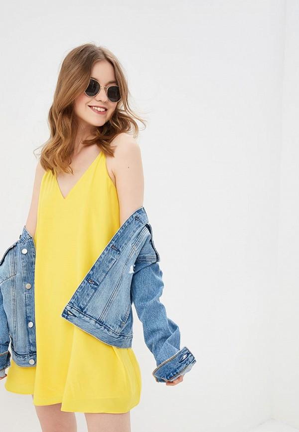 Платье Calvin Klein Jeans Calvin Klein Jeans CA939EWETIX3 платье calvin klein jeans calvin klein jeans ca939ewetiw9