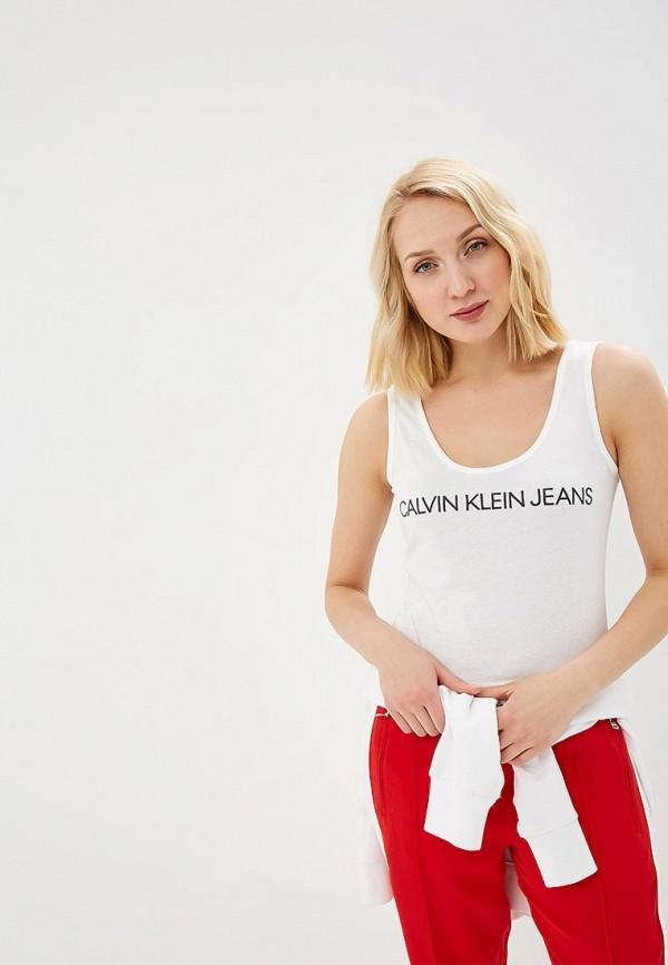 Майка Calvin Klein Jeans Calvin Klein Jeans CA939EWETIZ4 слипоны calvin klein jeans calvin klein jeans ca939amllh52