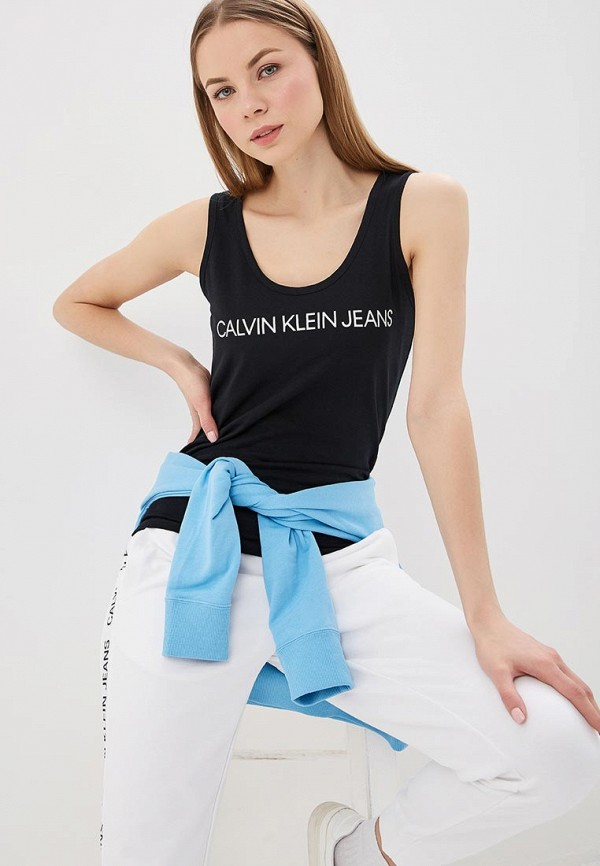 Майка Calvin Klein Jeans Calvin Klein Jeans CA939EWETIZ5 кошелек calvin klein jeans calvin klein jeans ca939bwapqt1