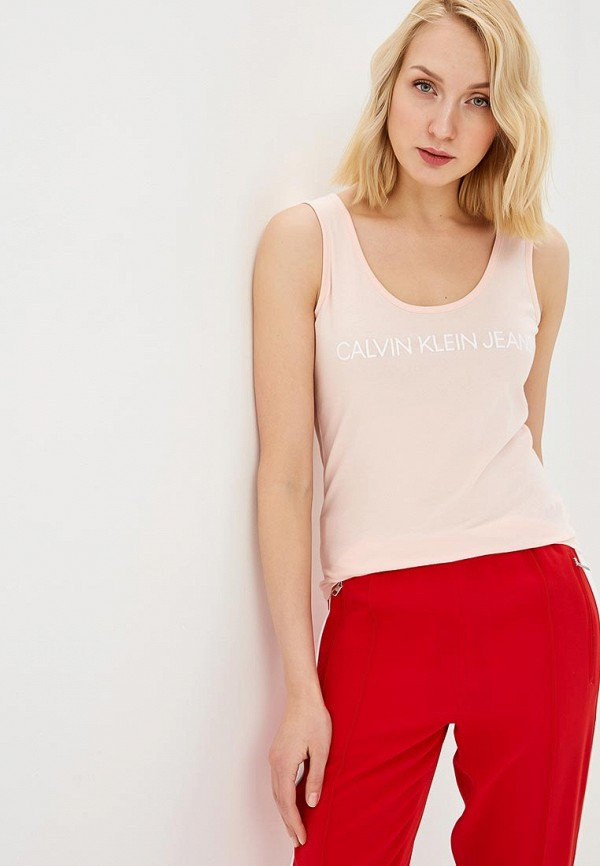 Майка Calvin Klein Jeans Calvin Klein Jeans CA939EWETIZ6 цена