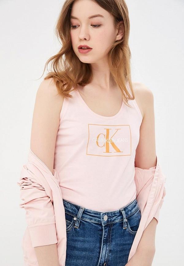 Майка Calvin Klein Jeans Calvin Klein Jeans CA939EWETIZ9 кошелек calvin klein jeans calvin klein jeans ca939bwapqt1
