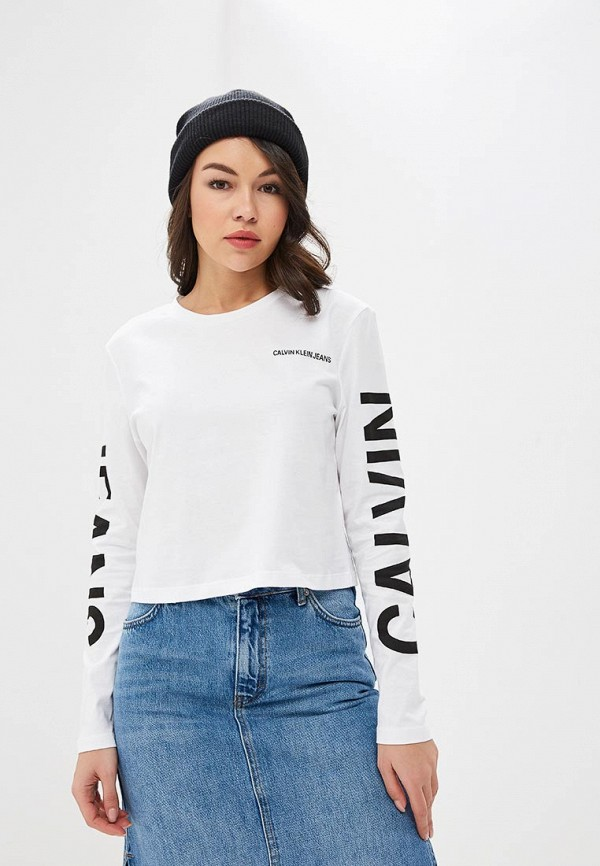 Лонгслив Calvin Klein Jeans Calvin Klein Jeans CA939EWETJA2 лонгслив calvin klein jeans calvin klein jeans ca939ewuhm57