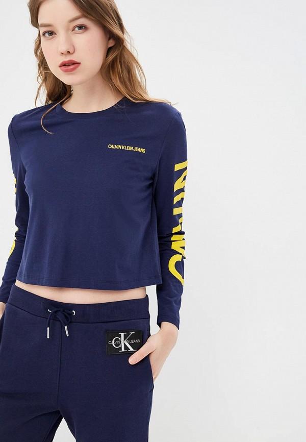 купить Лонгслив Calvin Klein Jeans Calvin Klein Jeans CA939EWETJA3 по цене 4800 рублей