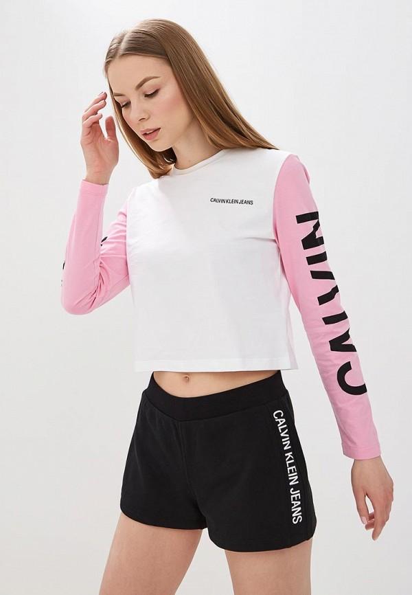купить Лонгслив Calvin Klein Jeans Calvin Klein Jeans CA939EWETJA5 по цене 4800 рублей