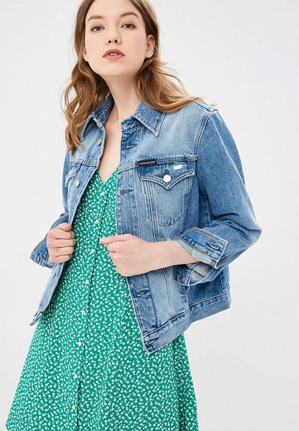 Куртка джинсовая Calvin Klein Jeans Calvin Klein Jeans CA939EWETJA7