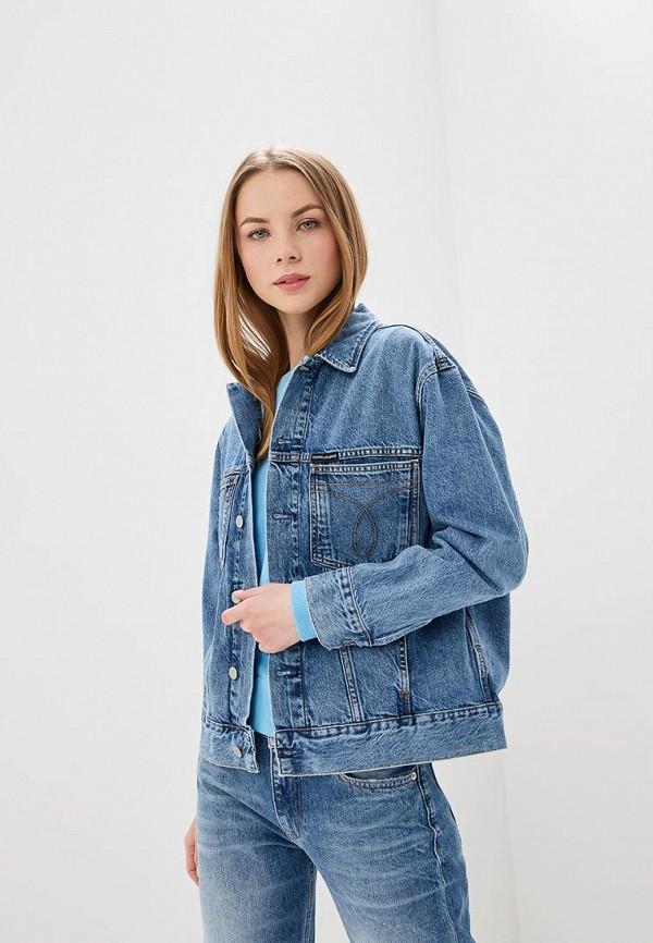 Куртка джинсовая Calvin Klein Jeans Calvin Klein Jeans CA939EWETJB0