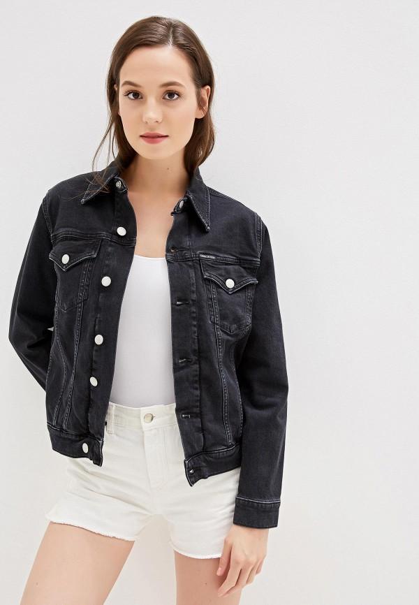 Куртка джинсовая Calvin Klein Jeans Calvin Klein Jeans CA939EWFQXB7 недорго, оригинальная цена