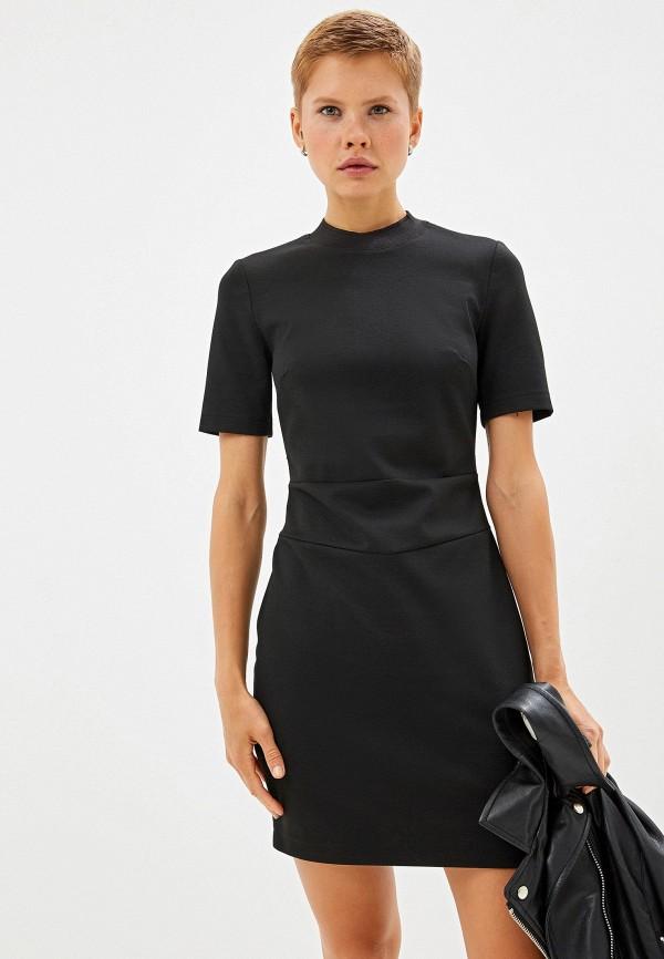 Фото - Женское платье Calvin Klein Jeans черного цвета