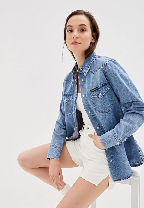 Рубашка джинсовая Calvin Klein Jeans Calvin Klein Jeans CA939EWFQXD8