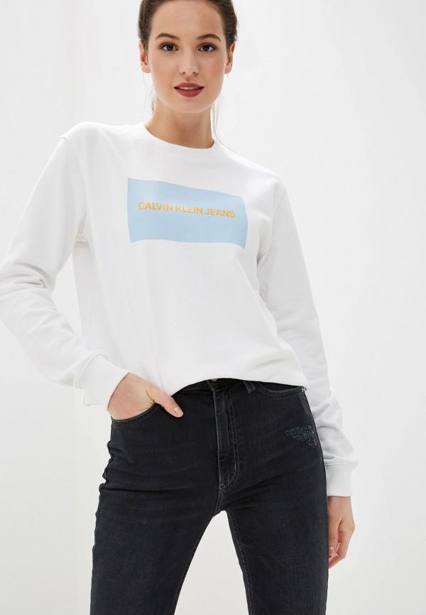 Свитшот Calvin Klein Jeans Calvin Klein Jeans CA939EWFQXE5 свитшот calvin klein jeans calvin klein jeans ca939ewduev2