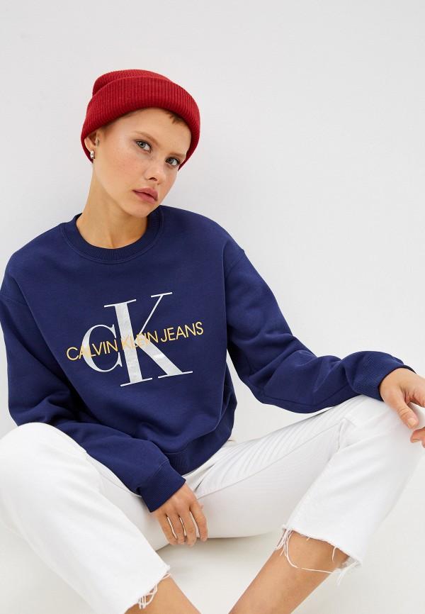 Свитшот Calvin Klein Jeans Calvin Klein Jeans CA939EWFQXF1 свитшот calvin klein calvin klein ca105ewegsd7