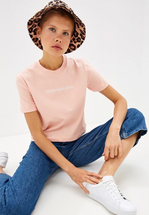 Футболка Calvin Klein Jeans Calvin Klein Jeans CA939EWFQXG0 футболка calvin klein jeans calvin klein jeans ca939ewduez6