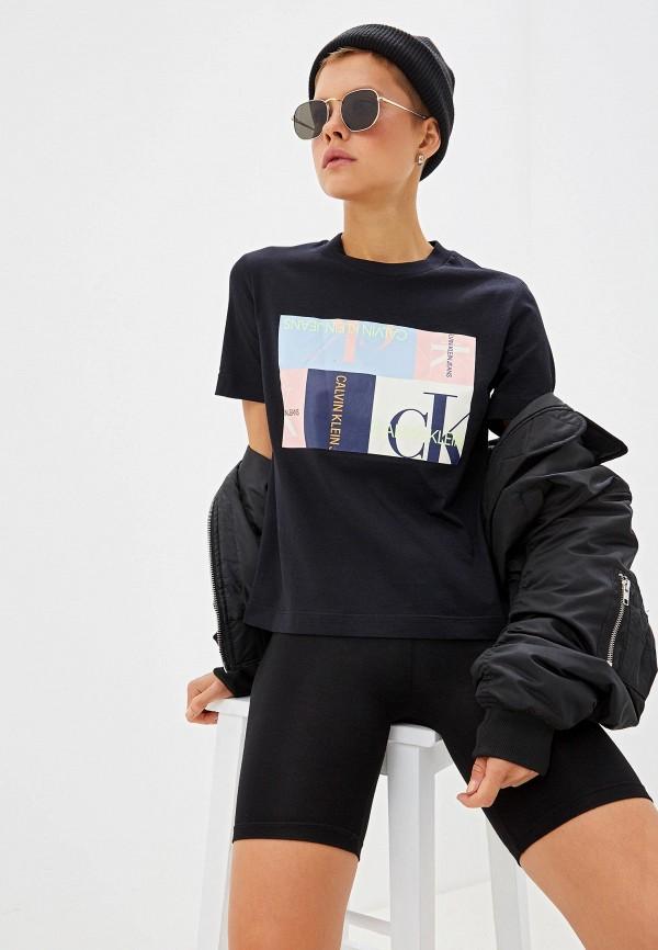 Футболка Calvin Klein Jeans Calvin Klein Jeans CA939EWFQYB9 все цены