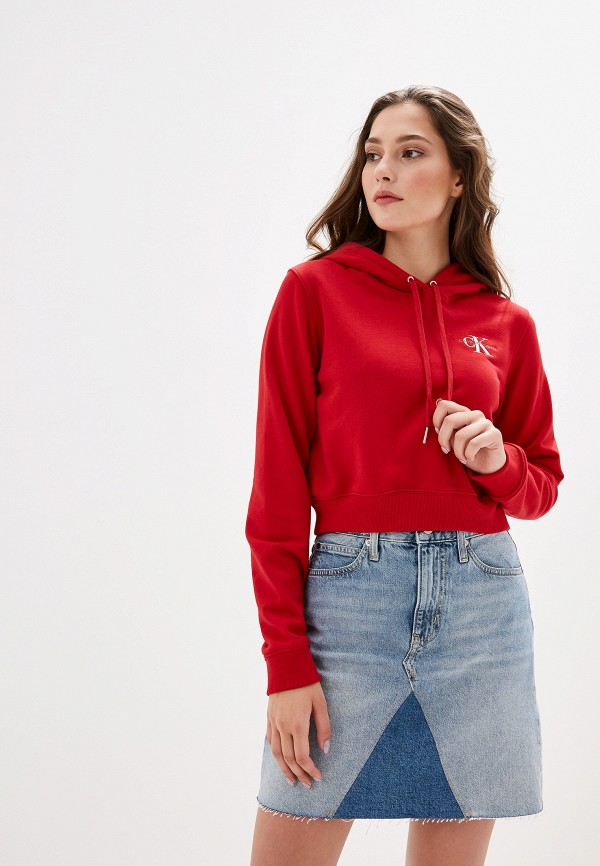 Худи Calvin Klein Jeans Calvin Klein Jeans CA939EWFQYD2 худи calvin klein jeans calvin klein jeans ca939embthj6