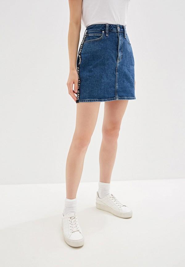Юбка джинсовая Calvin Klein Jeans Calvin Klein Jeans CA939EWFQYE4