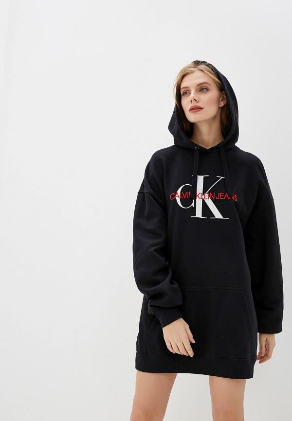 цены Платье Calvin Klein Jeans Calvin Klein Jeans CA939EWFQYY2