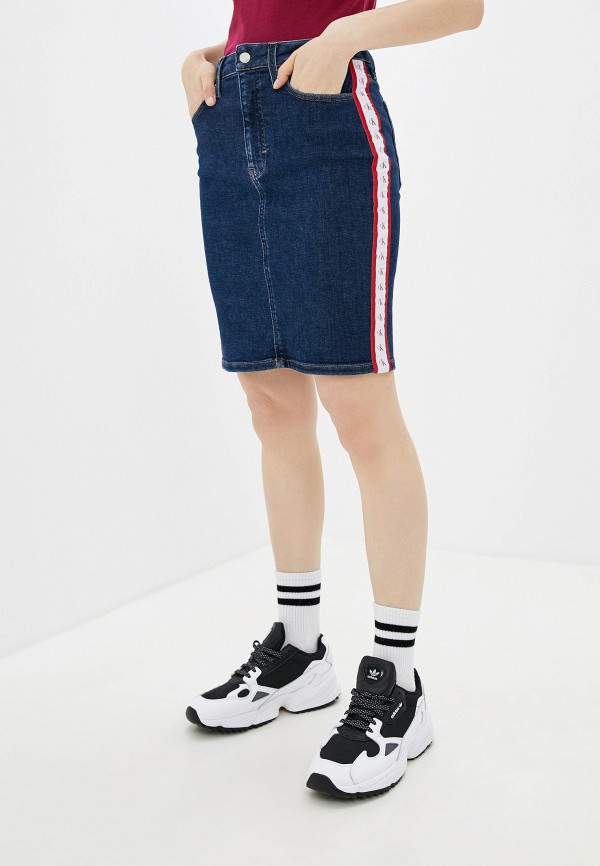 Юбка джинсовая Calvin Klein Jeans Calvin Klein Jeans CA939EWFQZD3