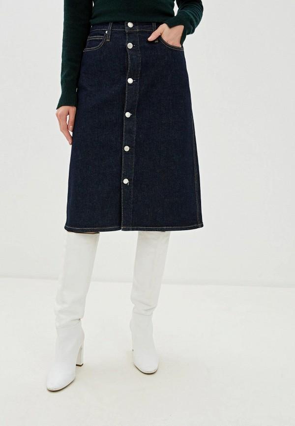Юбка джинсовая Calvin Klein Jeans Calvin Klein Jeans CA939EWFQZD4