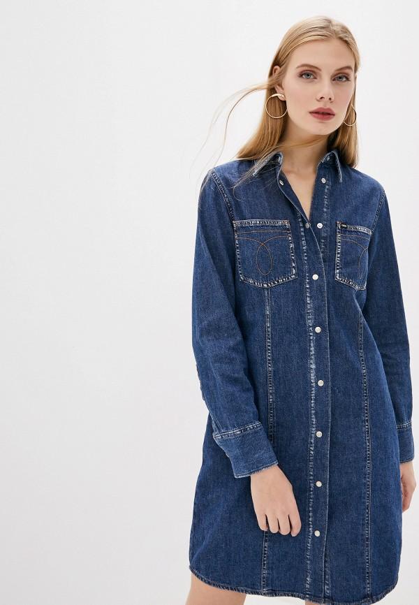 Платье джинсовое Calvin Klein Jeans Calvin Klein Jeans CA939EWHBIA2