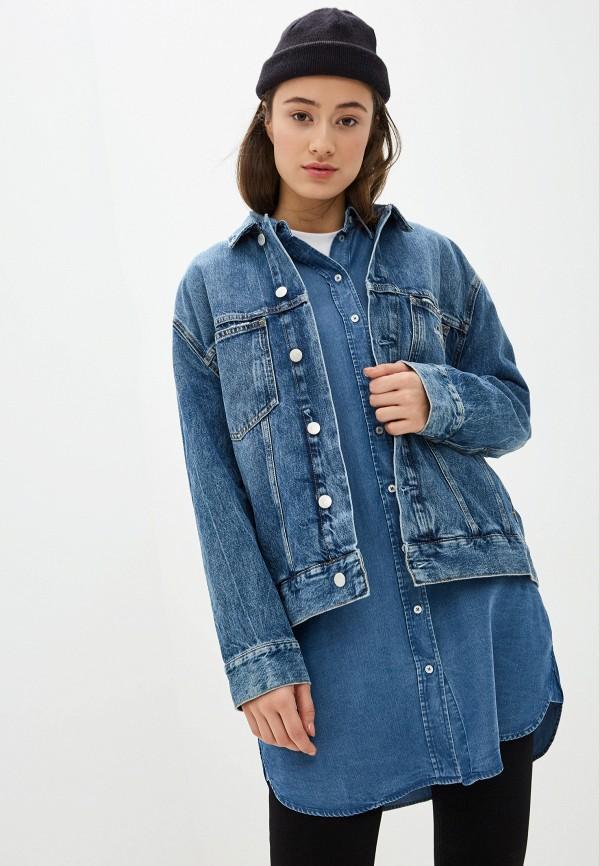 Куртка джинсовая Calvin Klein Jeans Calvin Klein Jeans CA939EWHPXX8 куртка джинсовая calvin klein calvin klein ca105ewegsi9