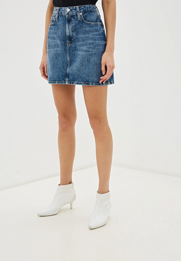 Юбка джинсовая Calvin Klein Jeans Calvin Klein Jeans CA939EWHPYZ9
