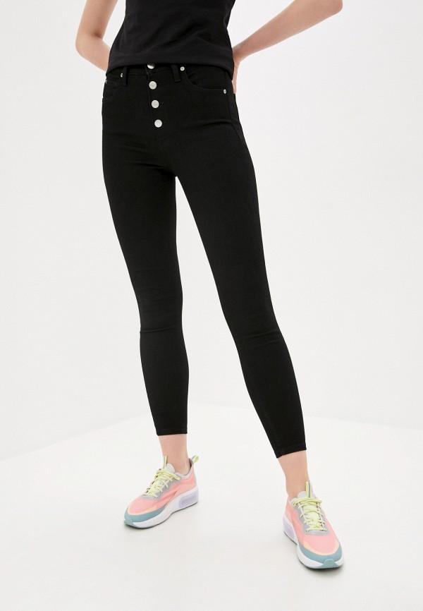 женские джинсы скинни calvin klein, черные