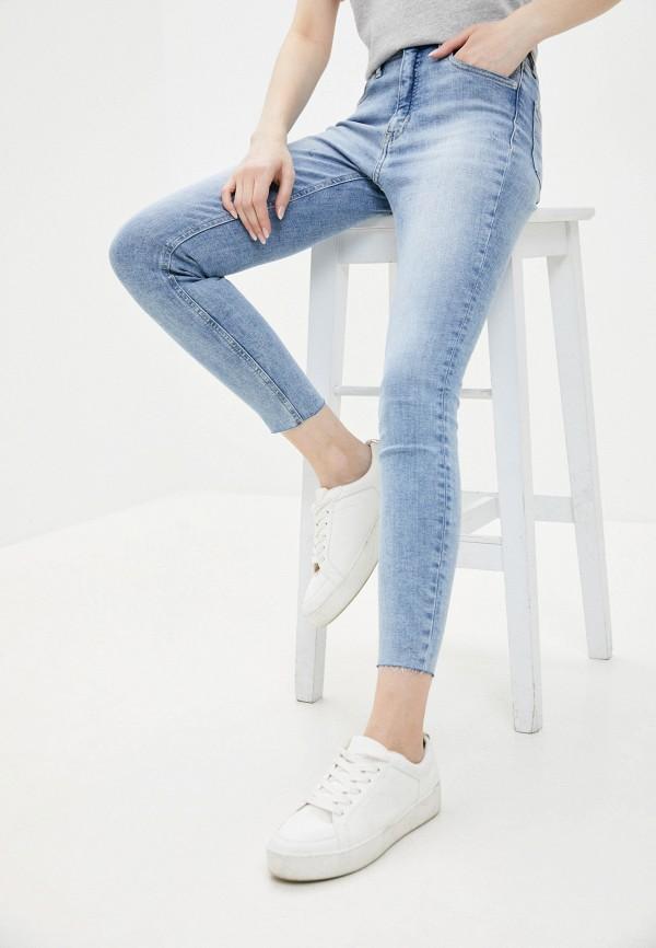 женские джинсы скинни calvin klein, голубые