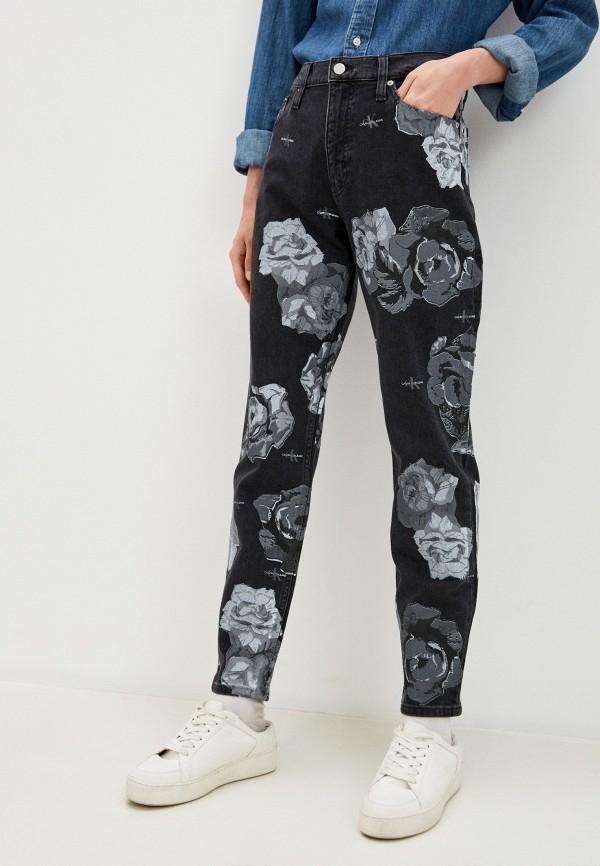 женские джинсы calvin klein, серые