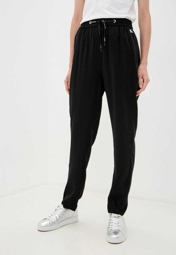 женские брюки calvin klein, черные