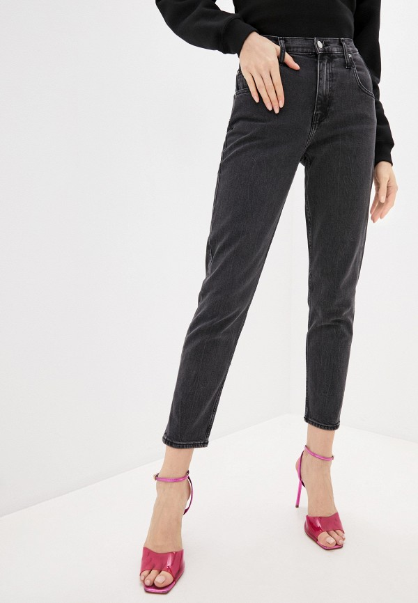 женские джинсы calvin klein, фиолетовые