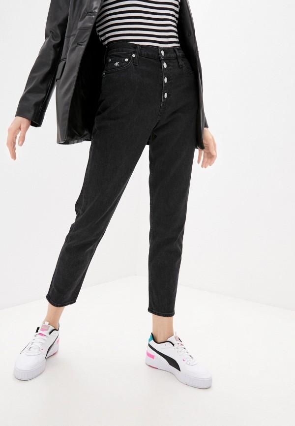 женские джинсы calvin klein, черные