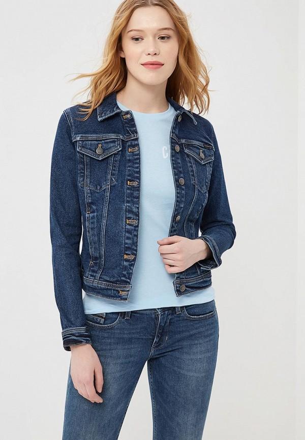Купить Куртка джинсовая Calvin Klein Jeans, CA939EWZJS29, синий, Весна-лето 2018