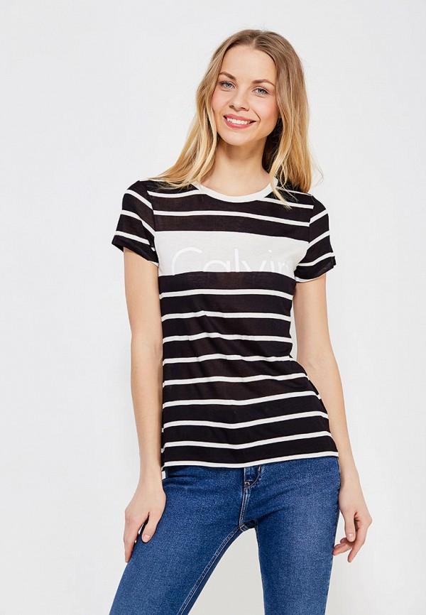 Купить Футболка Calvin Klein Jeans, CA939EWZJS48, черный, Весна-лето 2018